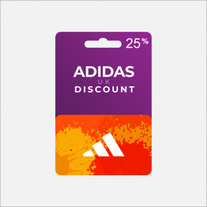 25% UK Adidas Discount Voucher Code