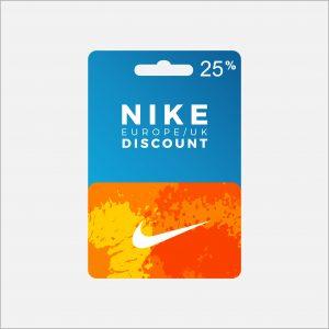 25% Nike Voucher Code UK & Europe