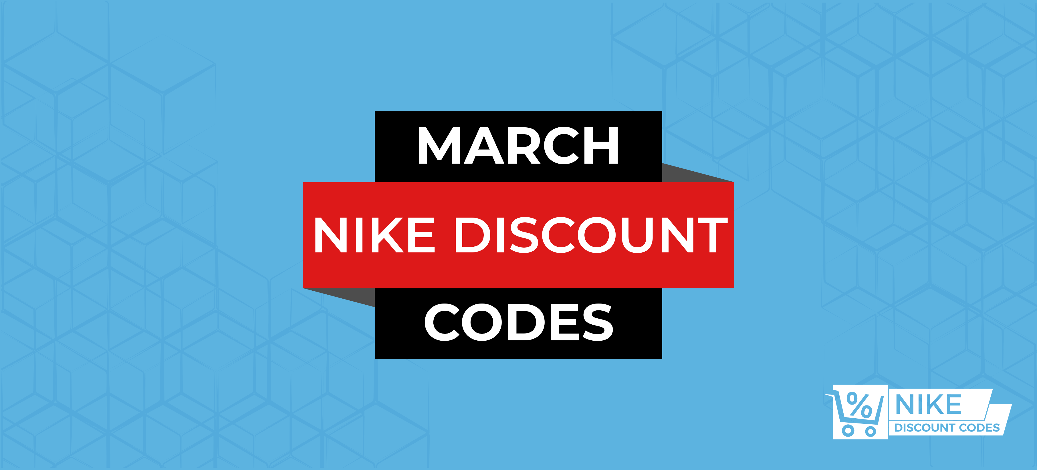 March Discount Codes Banner