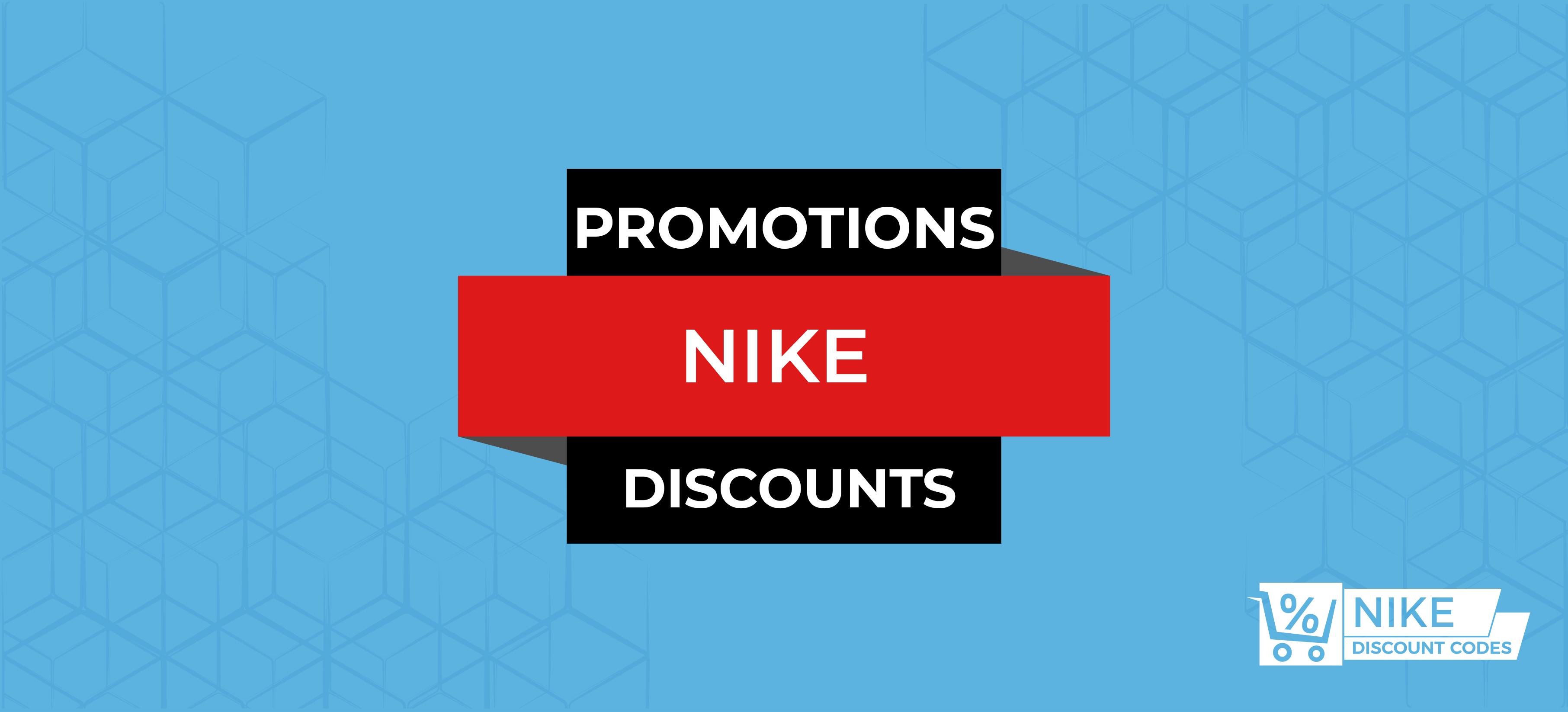 Nike Promotion Codes Banner